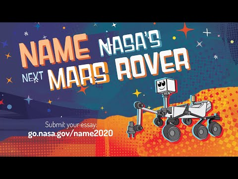 NASA starts accepting kids' name suggestions for its Mars