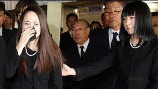 聖子、相澤会長通夜に娘・沙也加と参列 号泣で「ありがとうございました...