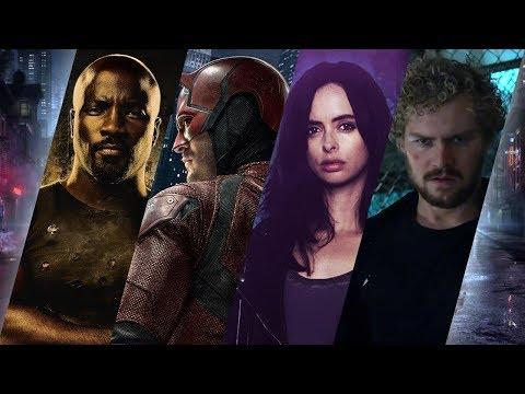 All Marvel Netflix Intros and Opening Credits (Daredevil, Jessica Jones, Luke Cage, Iron Fist)