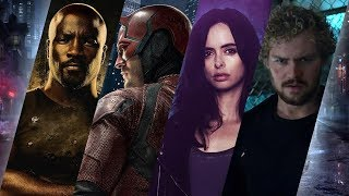 All Marvel Netflix Intros and Opening Credits (Daredevil, Jessica Jones, Luke Cage, Iron Fist)