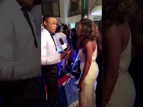 Bola Adebayo on the red carpet