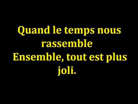 Jean jacques goldman ensemble paroles (souvient toi)