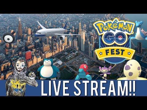 POKÉMON GO NIGHTLY ADVENTURE LIVE FROM CHICAGO, ILLINOIS!