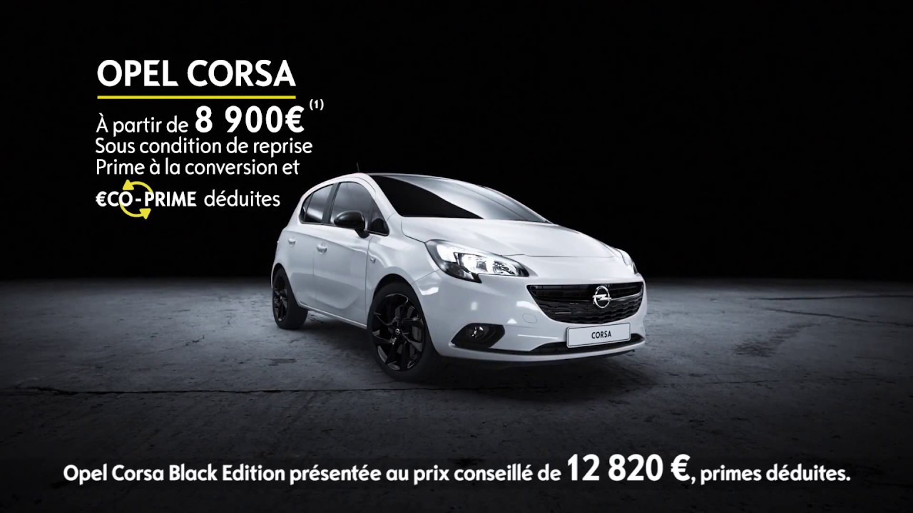 2018 opel corsa black edition commercial youtube. Black Bedroom Furniture Sets. Home Design Ideas