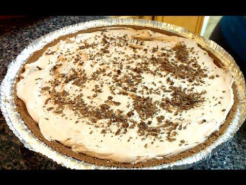DELICIOUS NO BAKE Chocolate Cream Pie