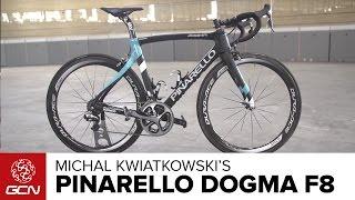 Michal Kwiatkowski's NEW Pinarello Dogma F8