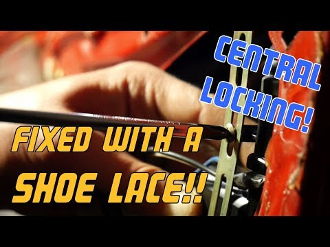 How to install a basic central locking system!!