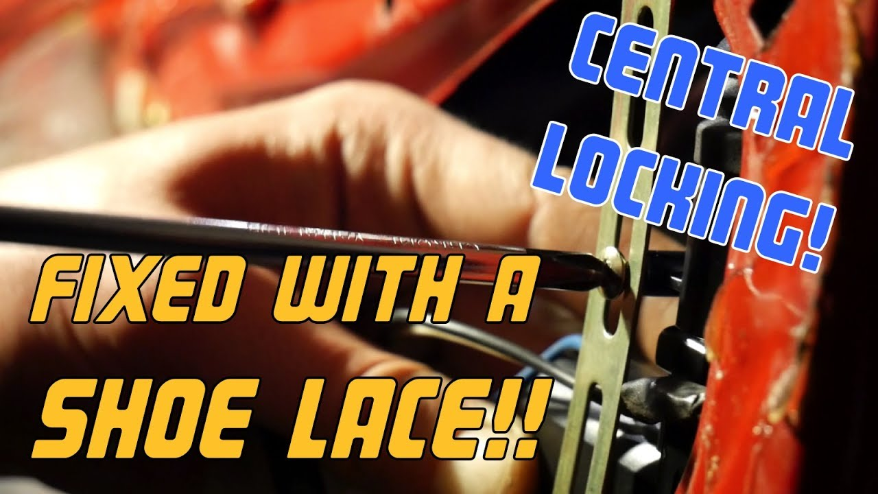 How To Install A Basic Central Locking System Youtube Vs Commodore Wiring Diagram