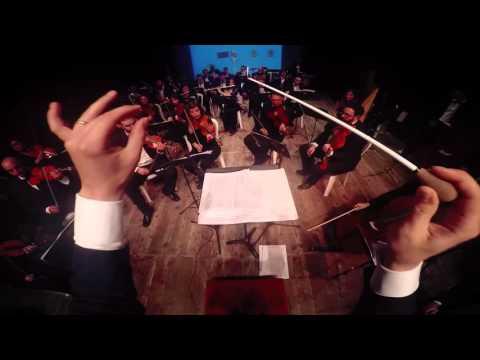 Super Mario Bros & Tetris Theme Medley With GoPro & Orchestra