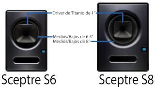 PreSonus—Sceptre CoActual Active Monitores de Estudio—En Español