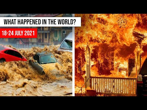 NATURAL DISASTERS this week from 18 - 24 july 2021 Climate changе! disasters 2021 flood