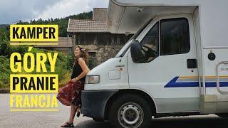 Kamperem euro trip w kierunku Francji i pranie na parkingu :)
