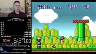 (14:19.21) Super Mario Bros.: The Lost Levels any% D-4 (Mario) speedrun *World Record*