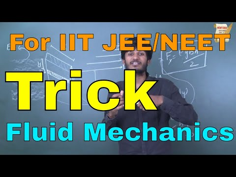 Trick on Fluid Mechanics || Very Important for IIT JEE/JEE MAIN || Problems solved in 10 seconds !