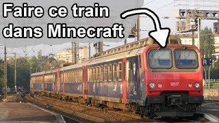 [Minecraft] - Tuto - Faire un vrai train ! (décoratif échelle 1:1)