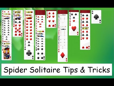 windows 7 spider solitaire 4 suits