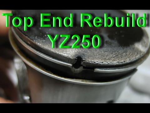 YZ250 Top End Rebuild after Piston Blow