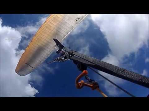 Paragliding in Pokhara, Nepal, 4. 3. 2017