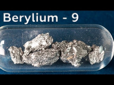 Beryllium - A LIGHT Metal that REFLECTS NEUTRONS!