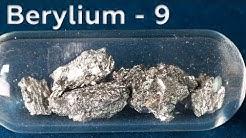 Beryllium - A LIGHT Metal that REFLECTS NEUTRONS!