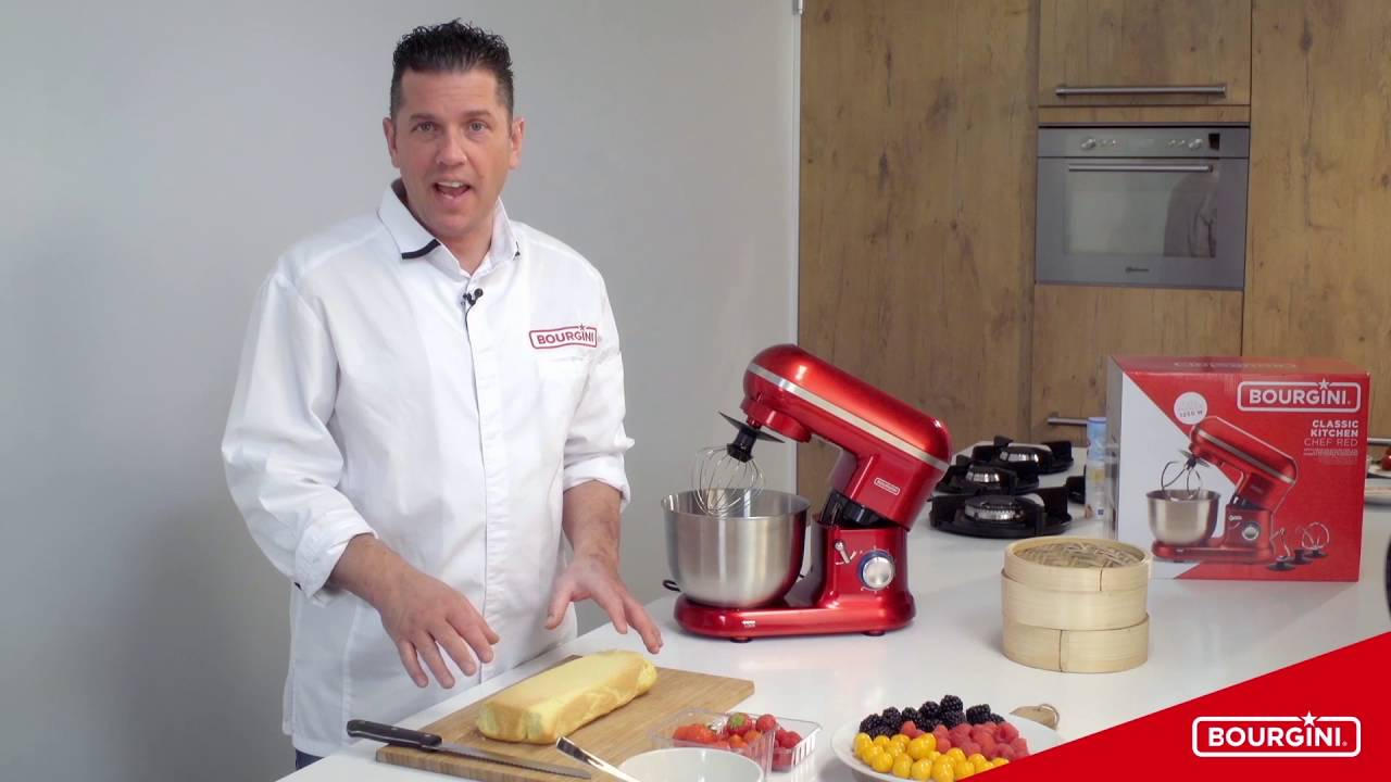 Lidl Keukenmachine 2016 Bourgini Productfilm Classic Kitchen Chef Red Met Jacob Jan Boerma