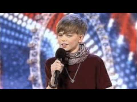 Ronan Parke Make you feel my love britains got talent semi final