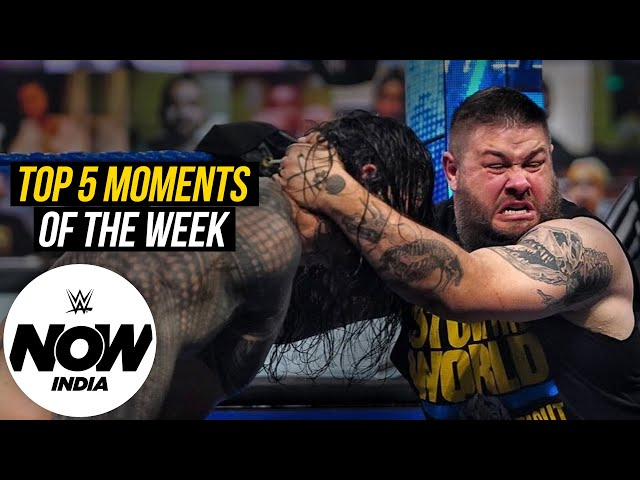 Owens Delivers a Stunning Attack on Reigns: WWE Now India