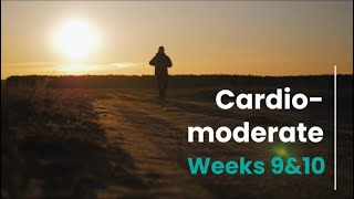 Cardio Moderate Prescription - Week 9/10 (mH)