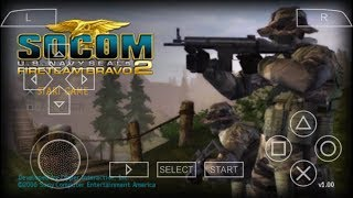 Cara Download Game Socom U.S Navy Seals FIRETEAM BRAVO 2 PPSSPP Android