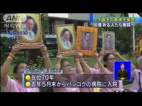สื่อญี่ปุ่นรายงานคนไทยถวายพระพรในหลวง