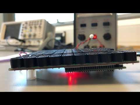 Ultrasonic Acoustic Levitation: Movement of a Polystyrene Bead Demonstration