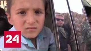 Смотреть видео Из семи миллионов беженцев в Сирию вернулись лишь сто тысяч - Россия 24 онлайн
