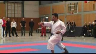 KARATE DM 2011 (DKV) Kata Einzel Herren Timo Gißler vs. Mohammed Abu Wahib