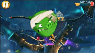 Beat The Daily Challenge King Pig Panic Completed in Angry Birds 2 wednesday 2