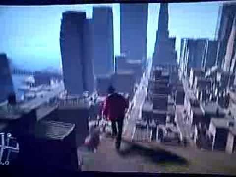 GTA IV BOGT - Base Jump Police Chase