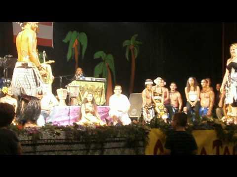 été tahitien quéven 2012 nini fait son show !!!!