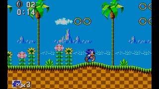Zerando o Sonic the Hedgehog - Master System 3 - parte 01