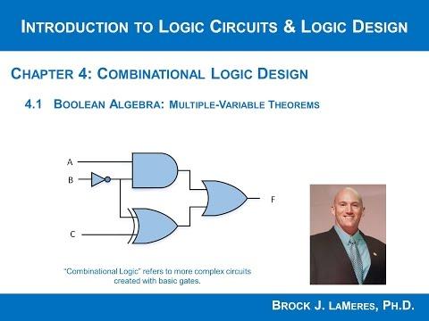 4.1(c) - Boolean Algebra Multiple Variable Theorems