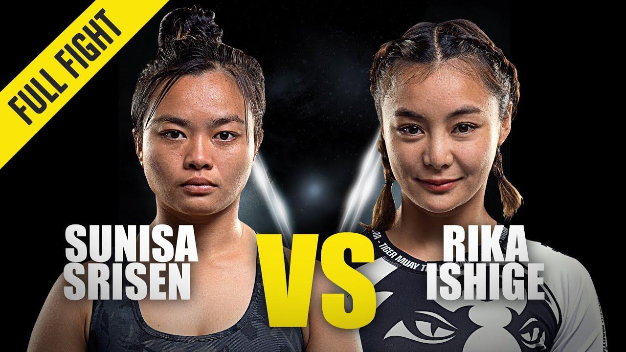 Sunisa Srisen vs. Rika Ishige | ONE Championship Full Fight