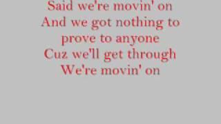 Good Charlotte movin' on lyrics
