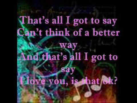 These Words by Natasha Bedingfield with Lyrics