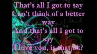 These Words by Natasha Bedingfield with Lyrics