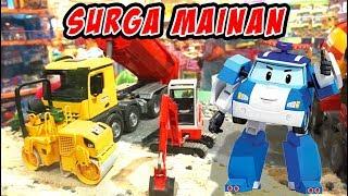 Disini Tempat Beli Mainan Banyak, Ada Tayo, Mobil Remot dan Robocar Poli | Mainan Anak Tobot