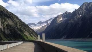 Austria, Schlegeis-Stausee, Sport, Travel, Trip, Alps
