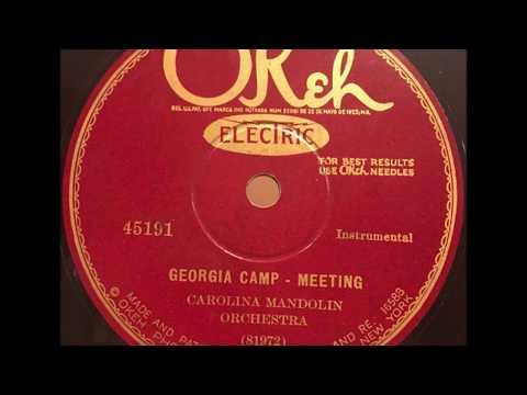 "Carolina Mandolin Orchestra ""Georgia Camp Meeting"" ragtime Kerry Mills"