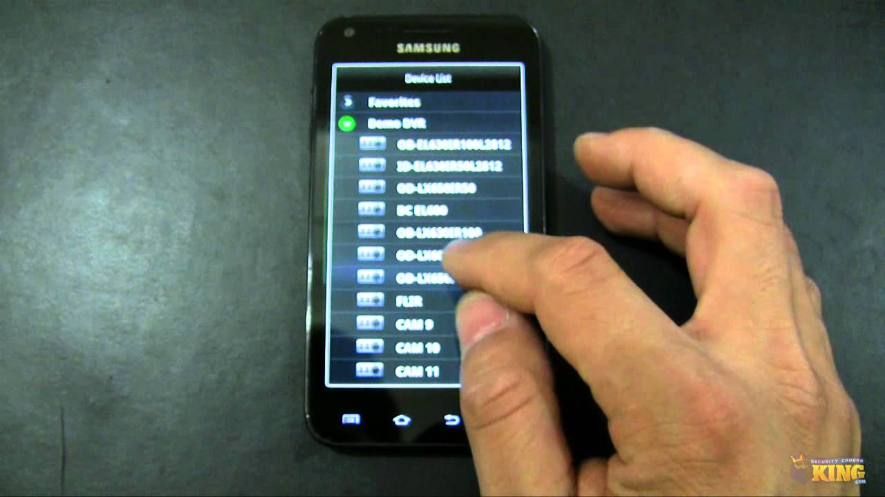 gdmss lite pour android