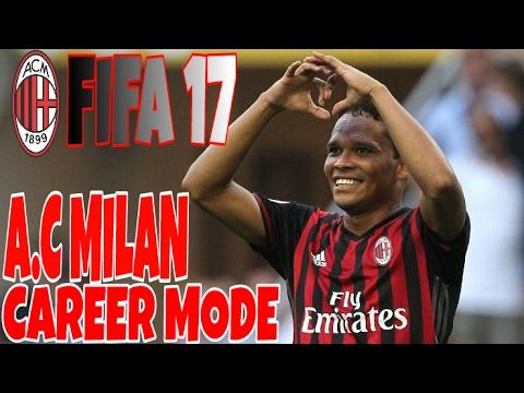 Fifa 17 ac milan career mode 1 on fire youtube for Fifa 17 milan