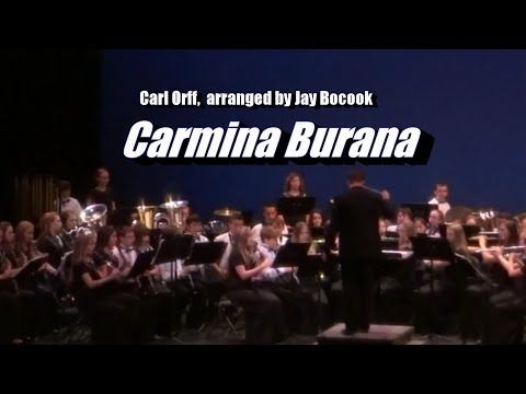 Carmina Burana - Cane Creek Middle School Honors Symphonic Band