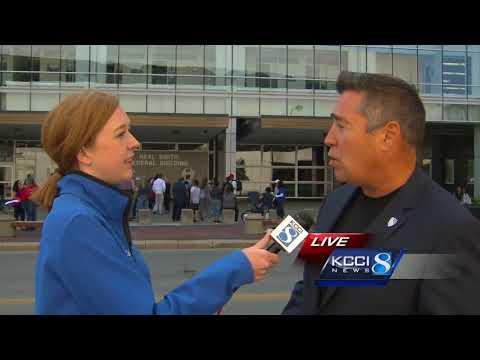 100 protest DACA decision in Des Moines
