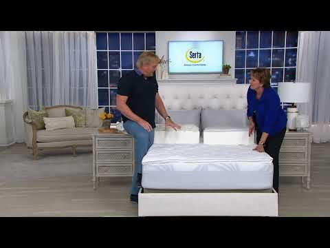 Serta Perfect Sleeper Luxury Mattress Topper With Scotchgard On QVC